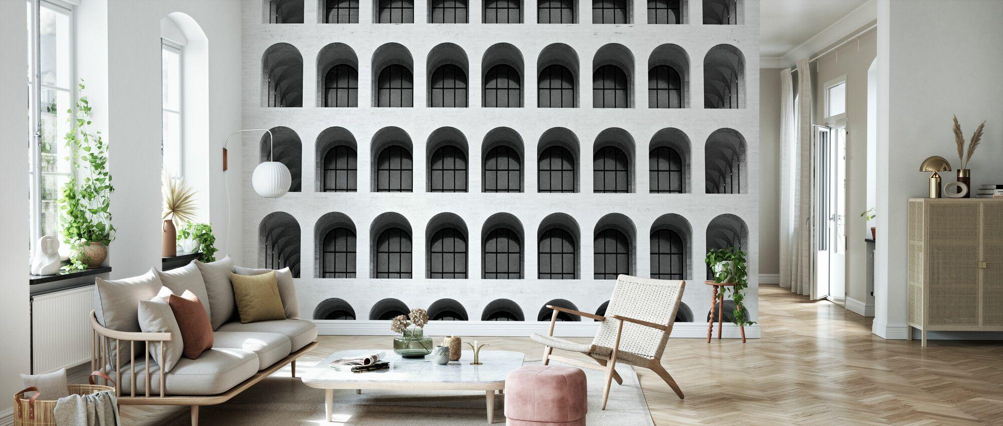 Colosseum-ikkunat - Tapetti - Olohuone