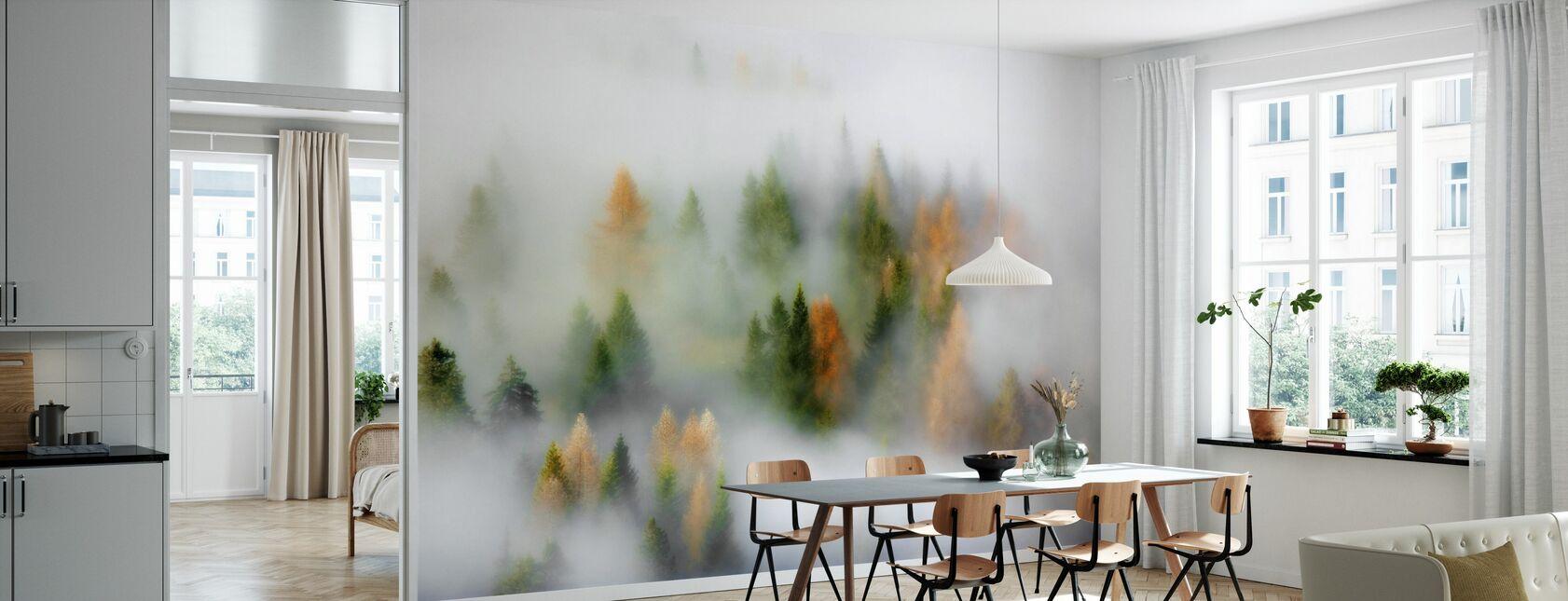 Misty Autumn - Wallpaper - Kitchen
