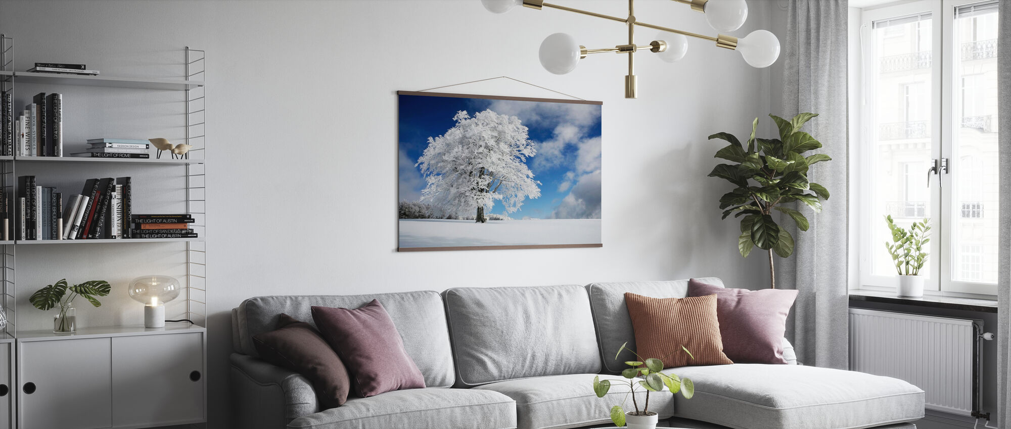 Winter Tree - Poster - Living Room