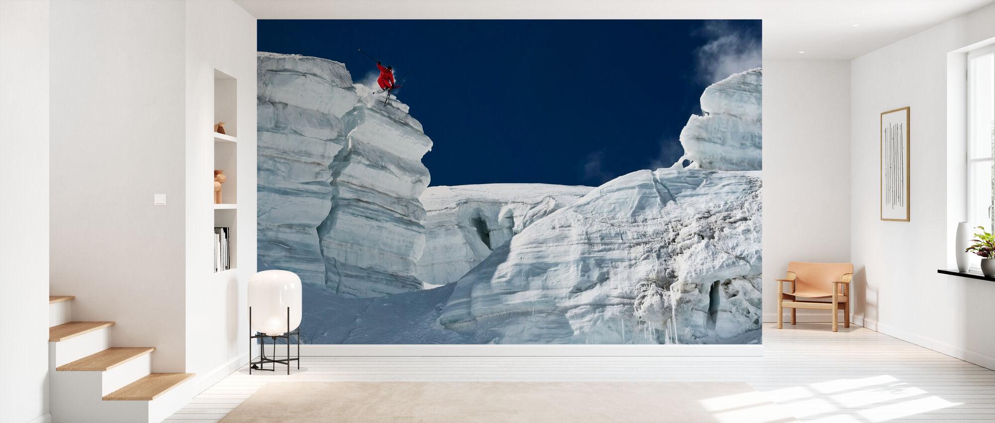 Cliff Jumping - Wallpaper - Hallway