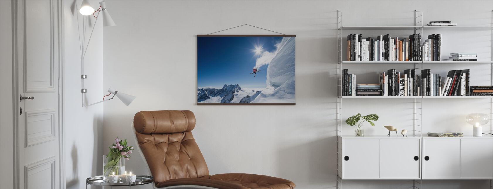 Ekstrem ski - Plakat - Stue