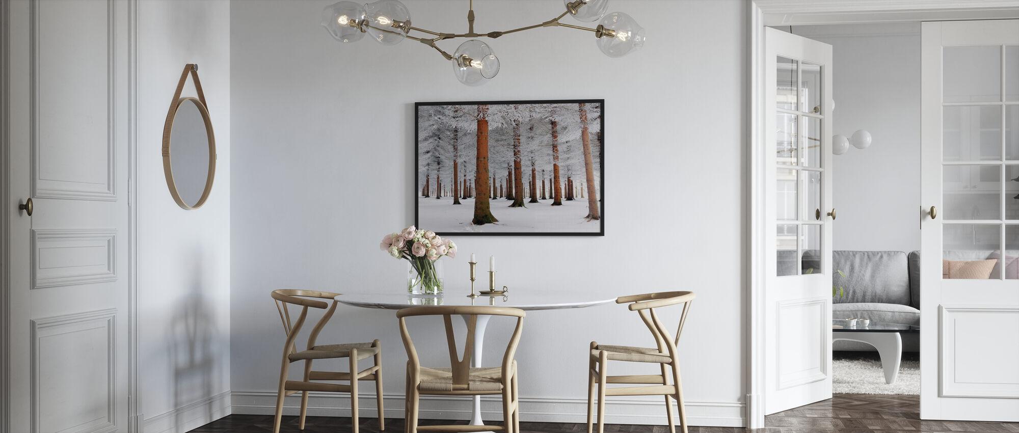 White Forest - Framed print - Kitchen