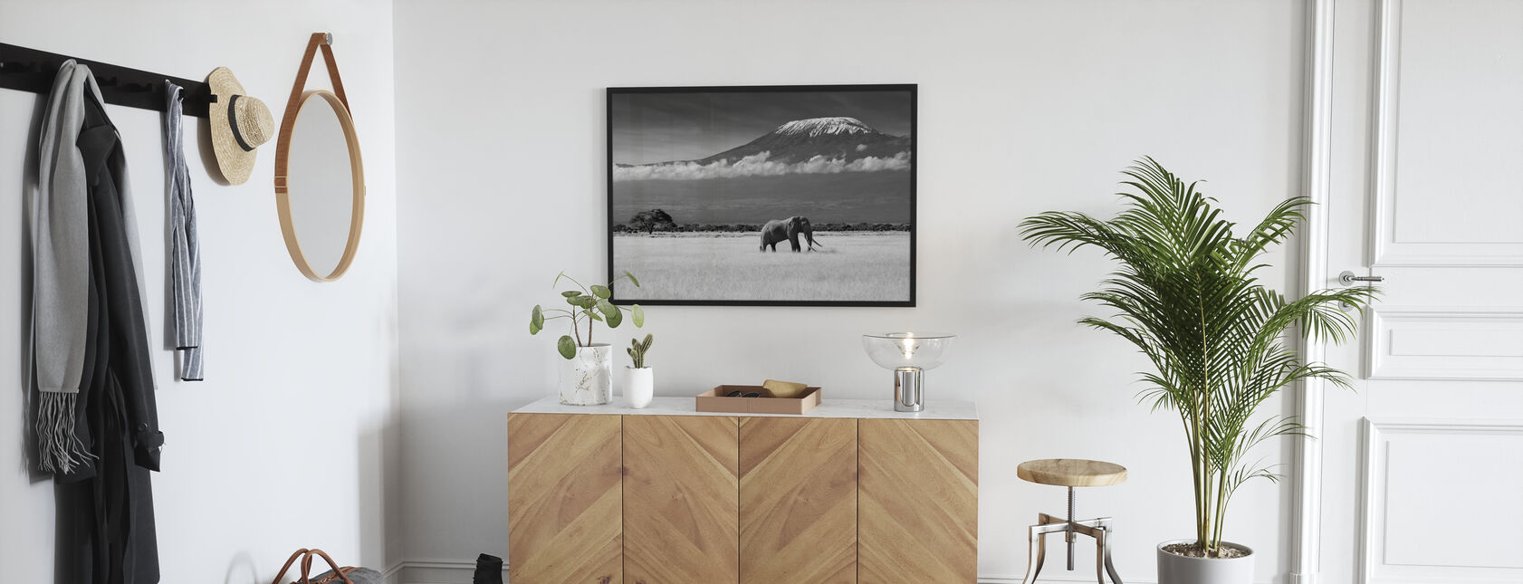Elephant Landscape - Poster - Hallway