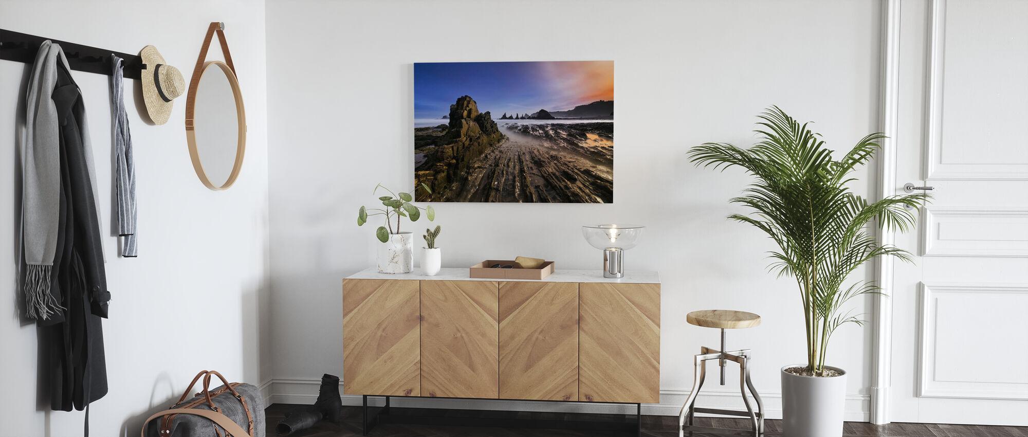 Kliffen - Canvas print - Gang