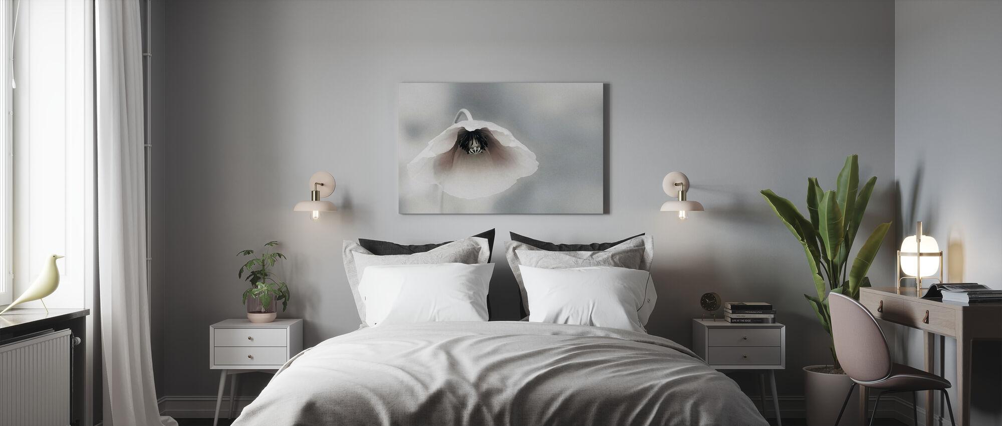 Traurige Blume - Leinwandbild - Schlafzimmer