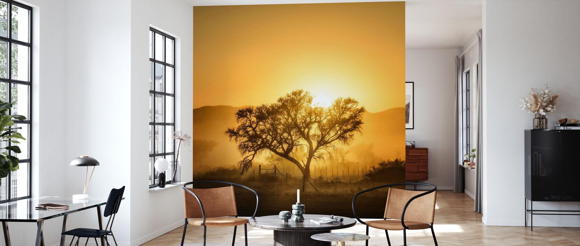 Golden Sunrise - Tapet - Vardagsrum