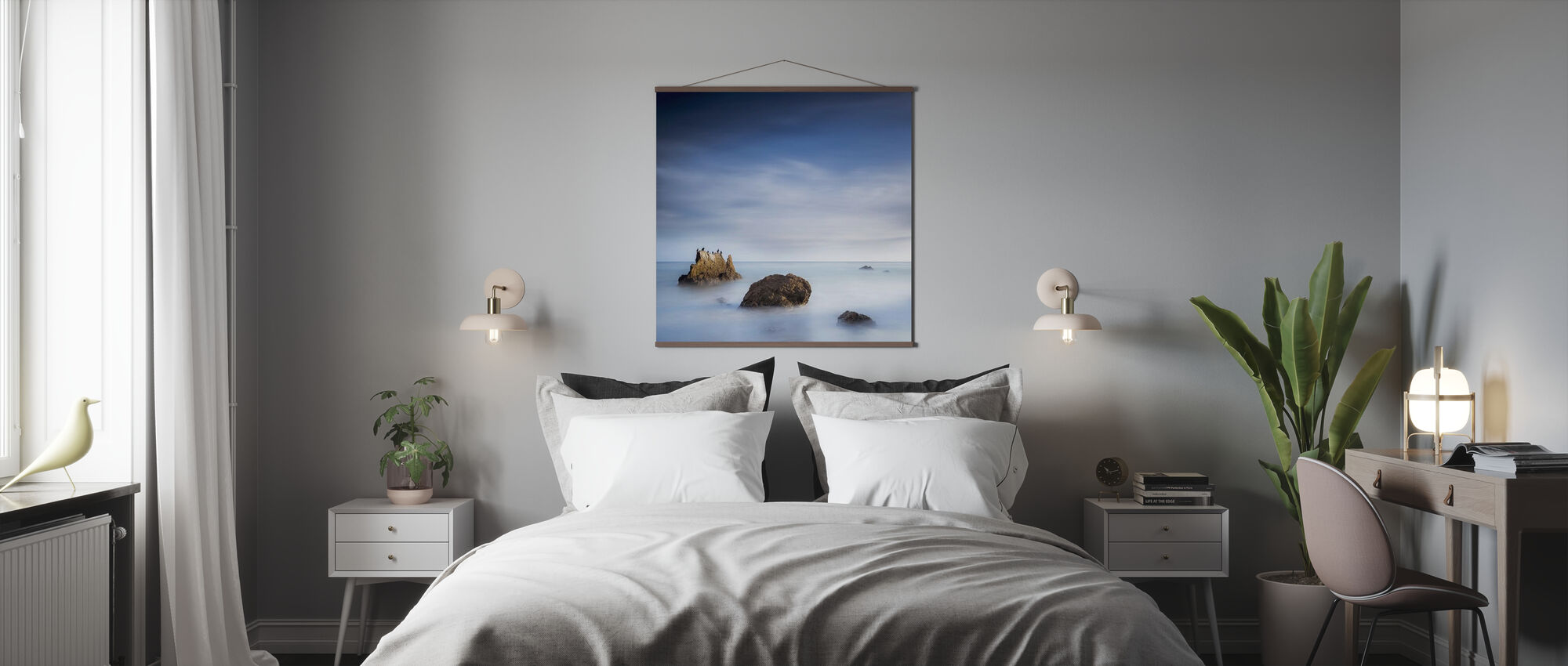 Misty Sea - Poster - Bedroom