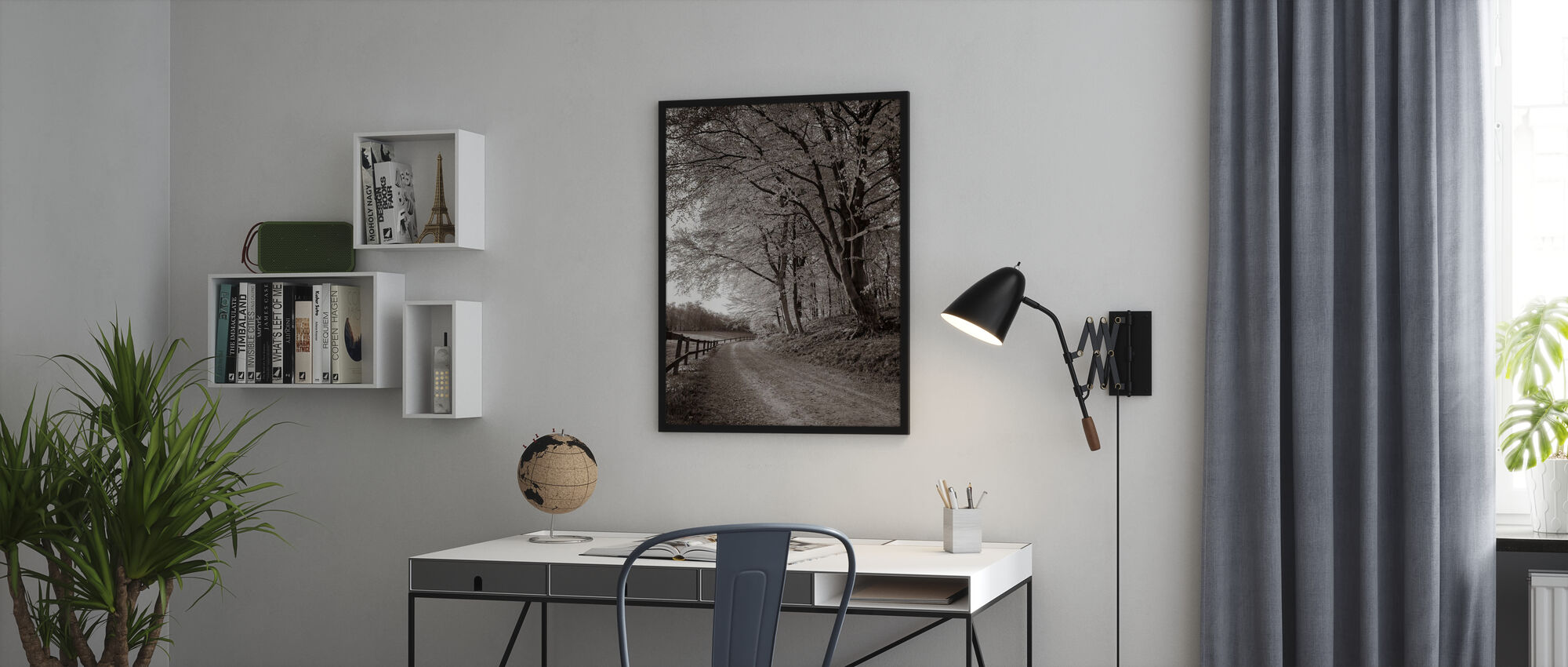 Country Road - Poster - Office