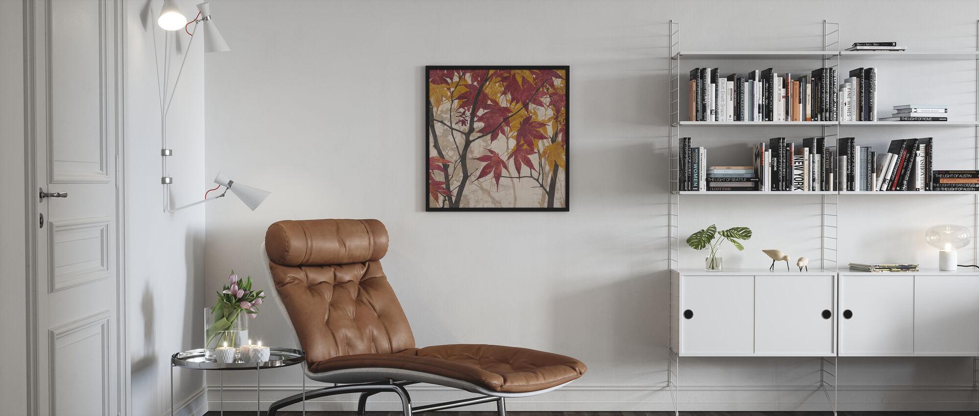 Maple Story 1 - Framed print - Living Room