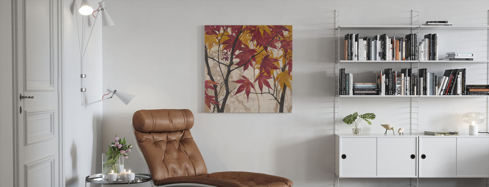 Maple Story 1 - Canvas print - Living Room