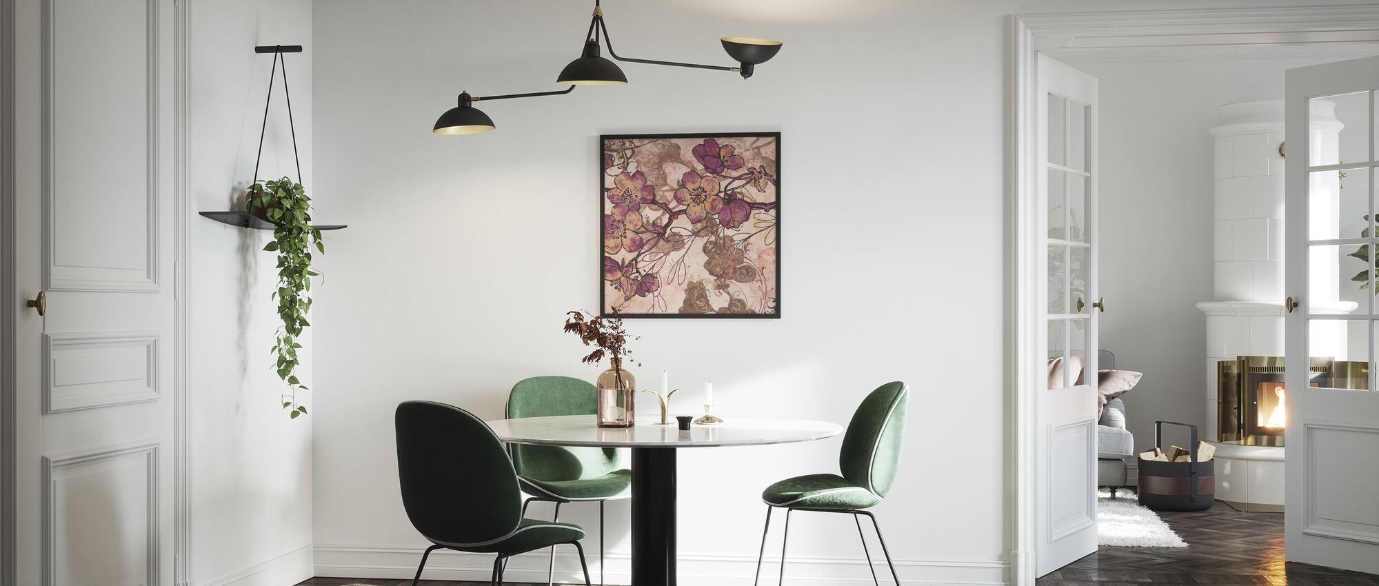 Etched Spring 1 - Framed print - Kitchen