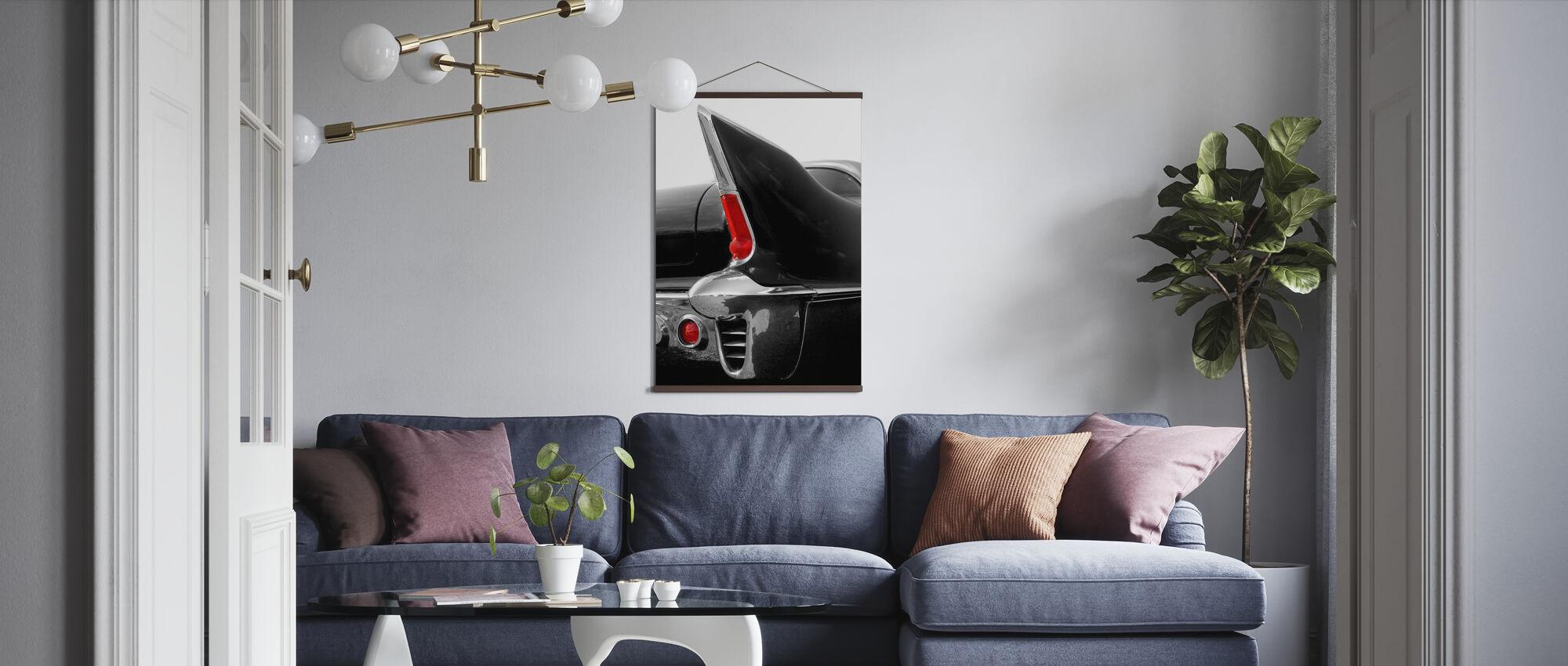 Black Tailfin - Poster - Living Room