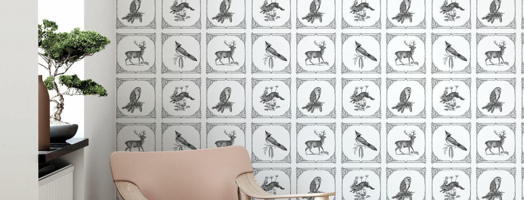 Friends in Need - Wallpaper - Living Room