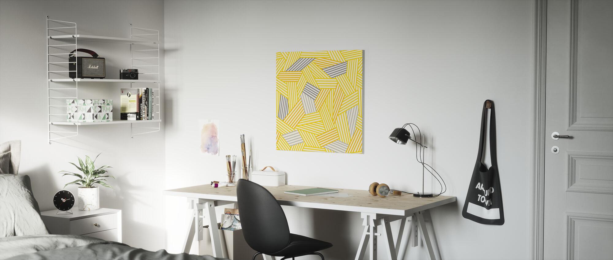 Going Geometric 3 - Canvas print - Kids Room