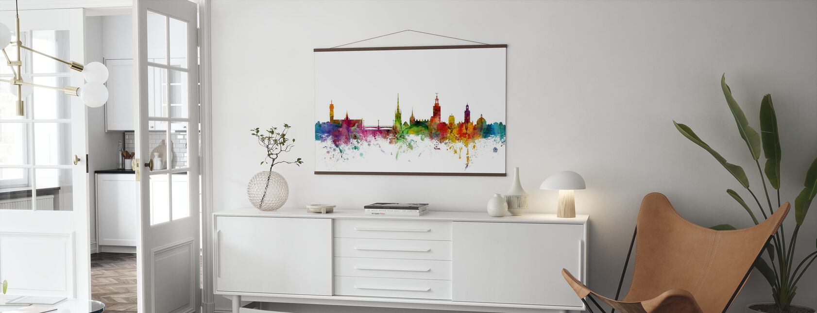 Stockholm Skyline - Poster - Vardagsrum