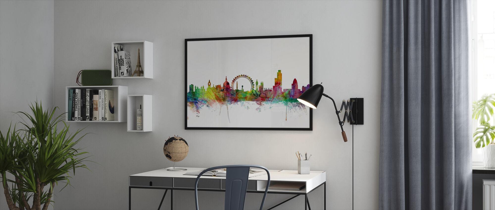 London Skyline - Poster - Office