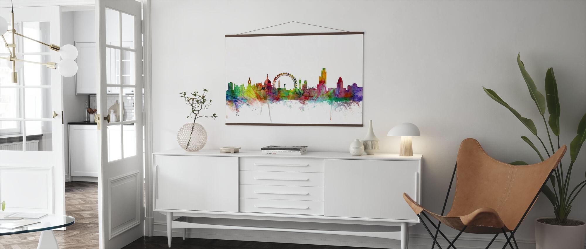 London Skyline - Poster - Woonkamer