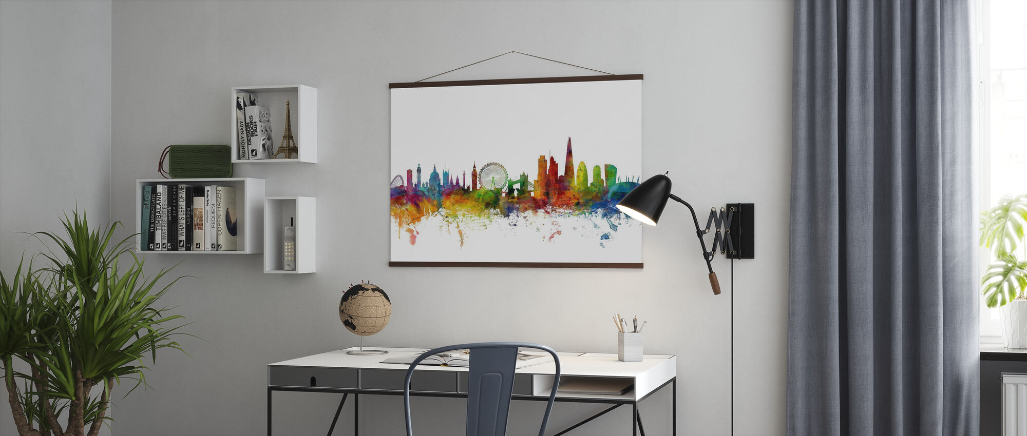 London Skyline 2 - Poster - Office