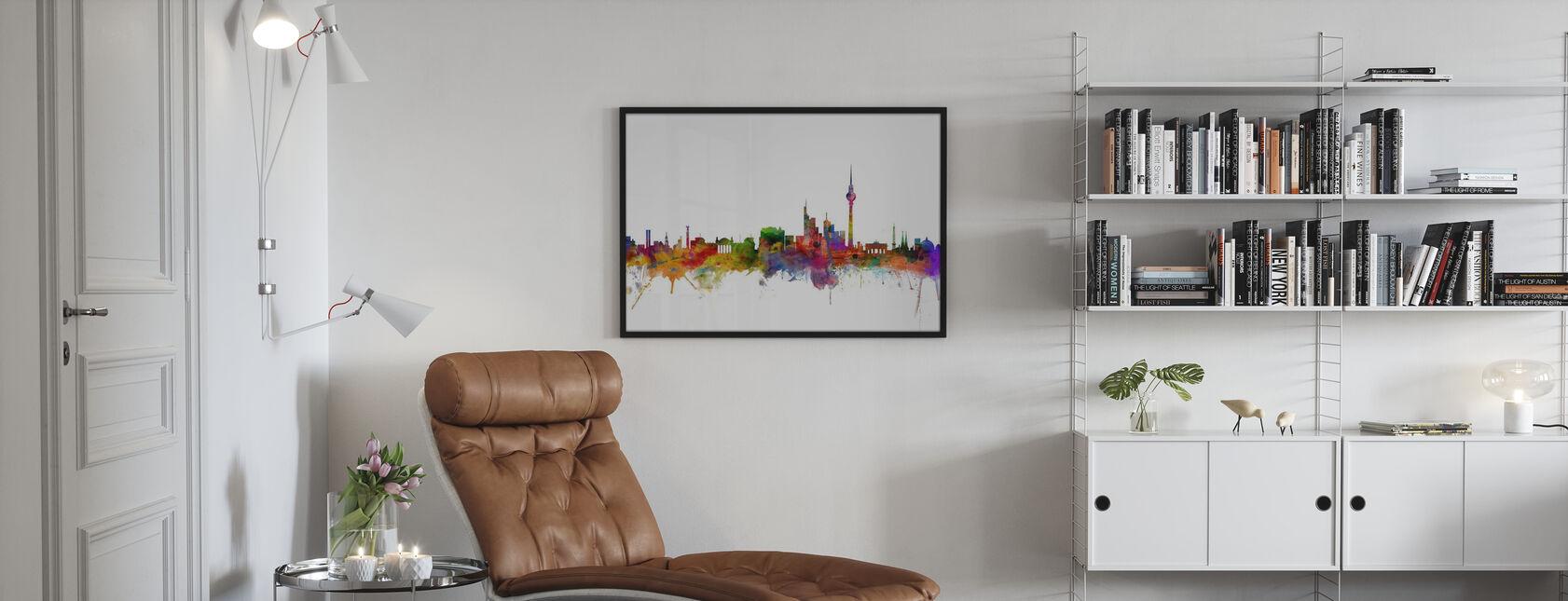 Berlin Skyline - Poster - Wohnzimmer