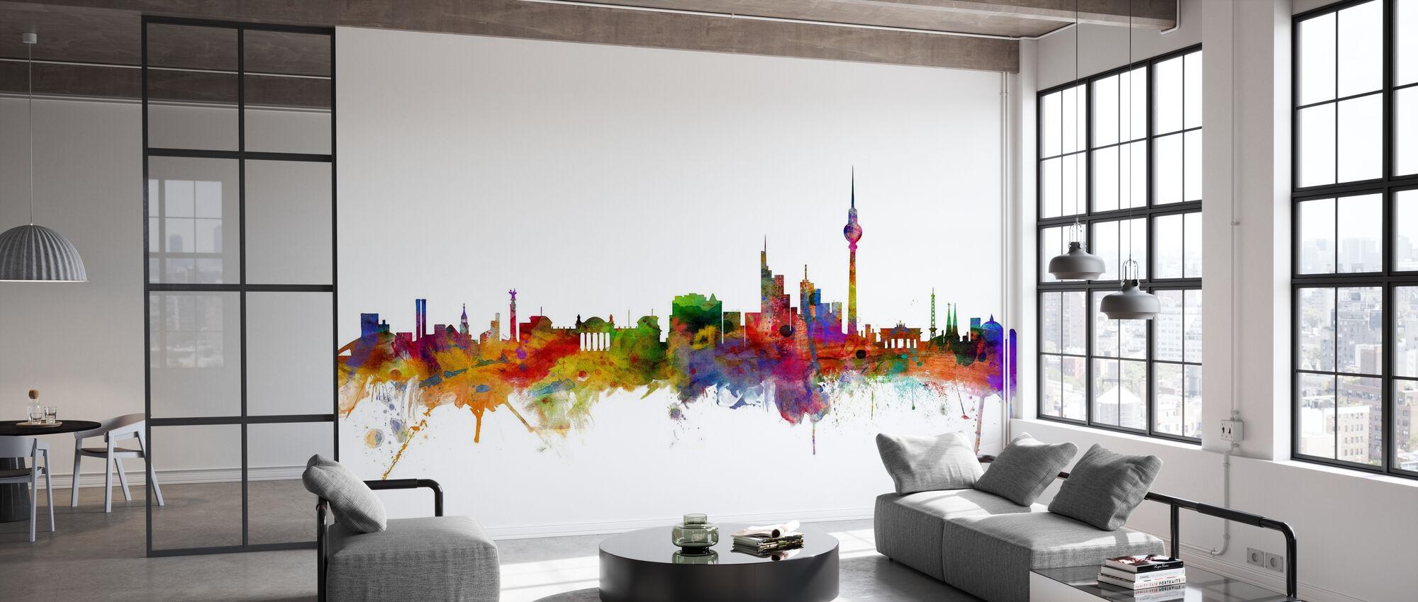 Berlin Skyline - Wallpaper - Office