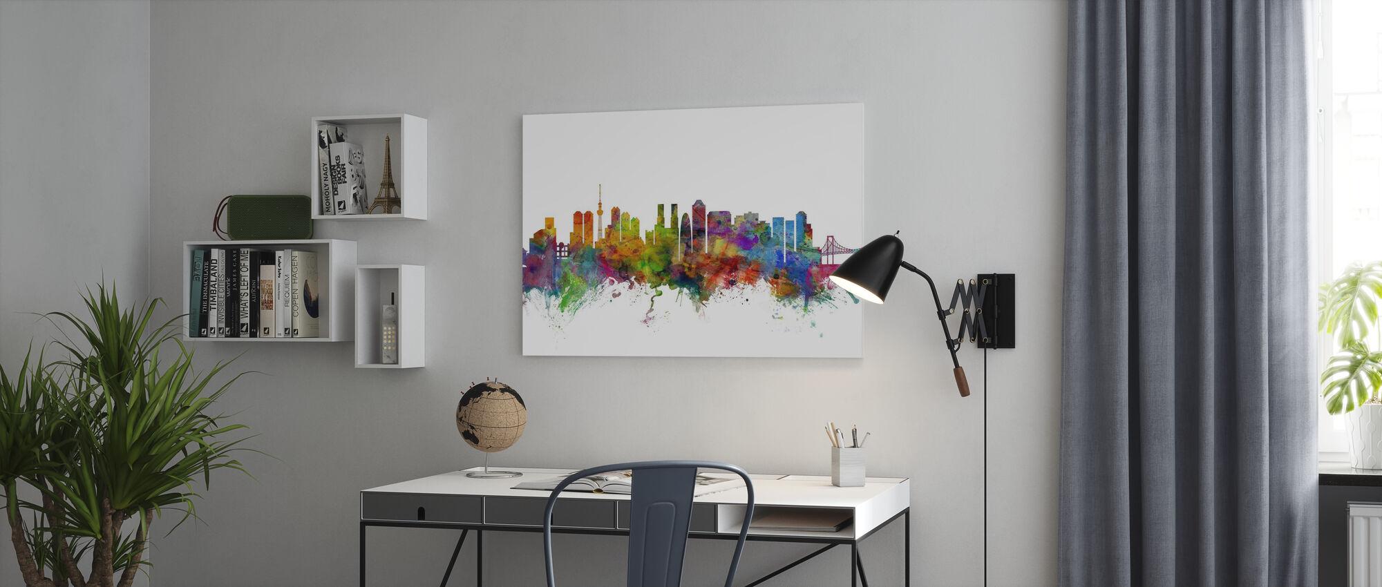 Tokyo Skyline - Canvas print - Office