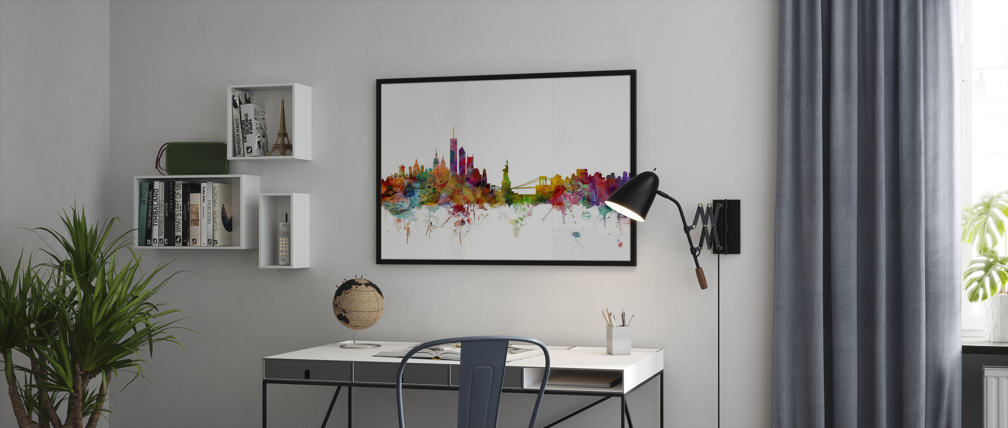 New York Skyline - Framed print - Office