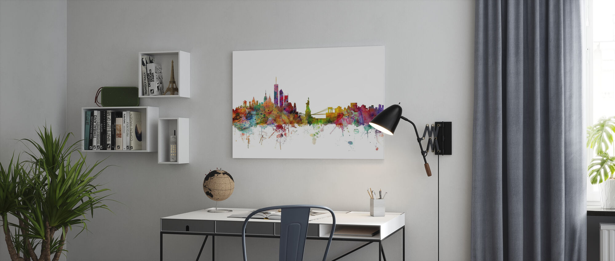New York Skyline - Canvas print - Office