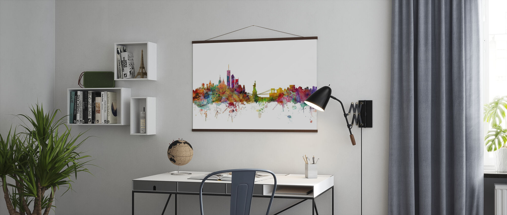 New York Skyline - Poster - Office