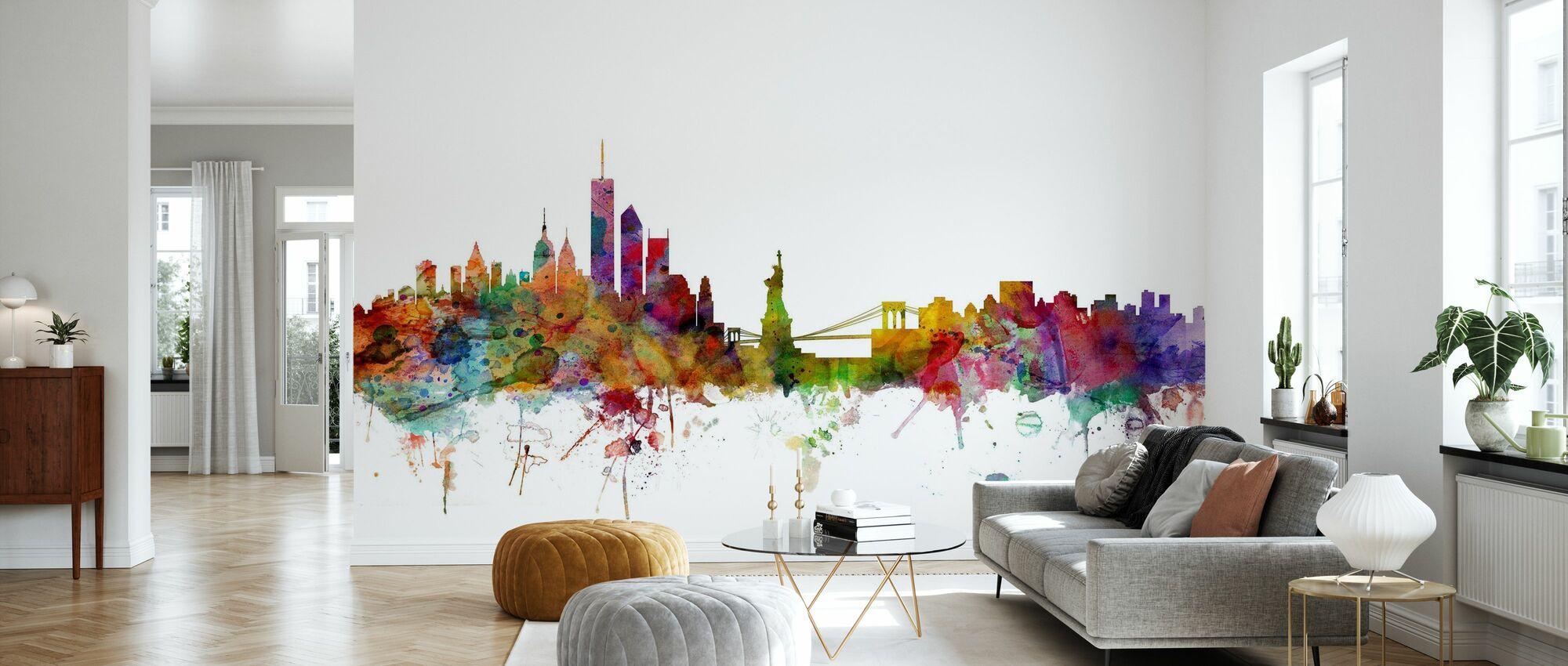 Skyline de New York - Papier peint - Salle à manger