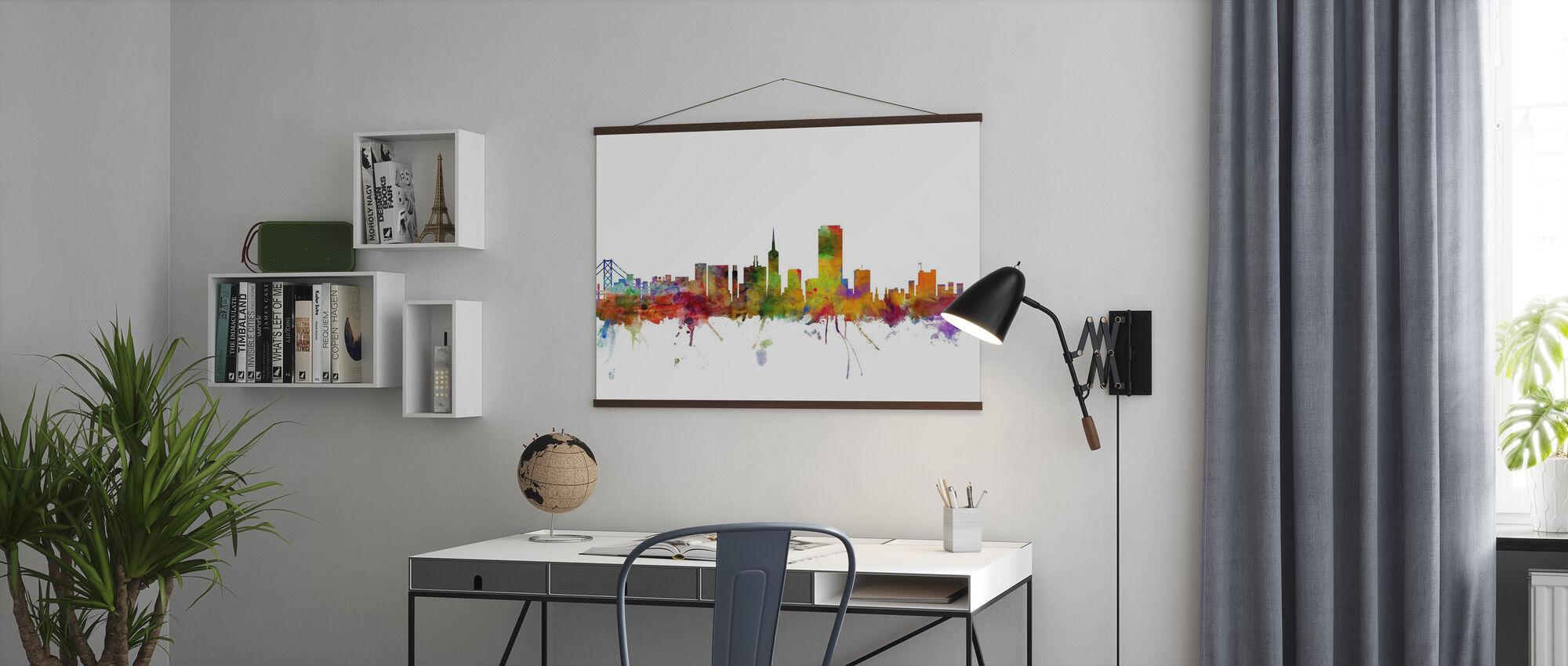 San Francisco Skyline - Poster - Office