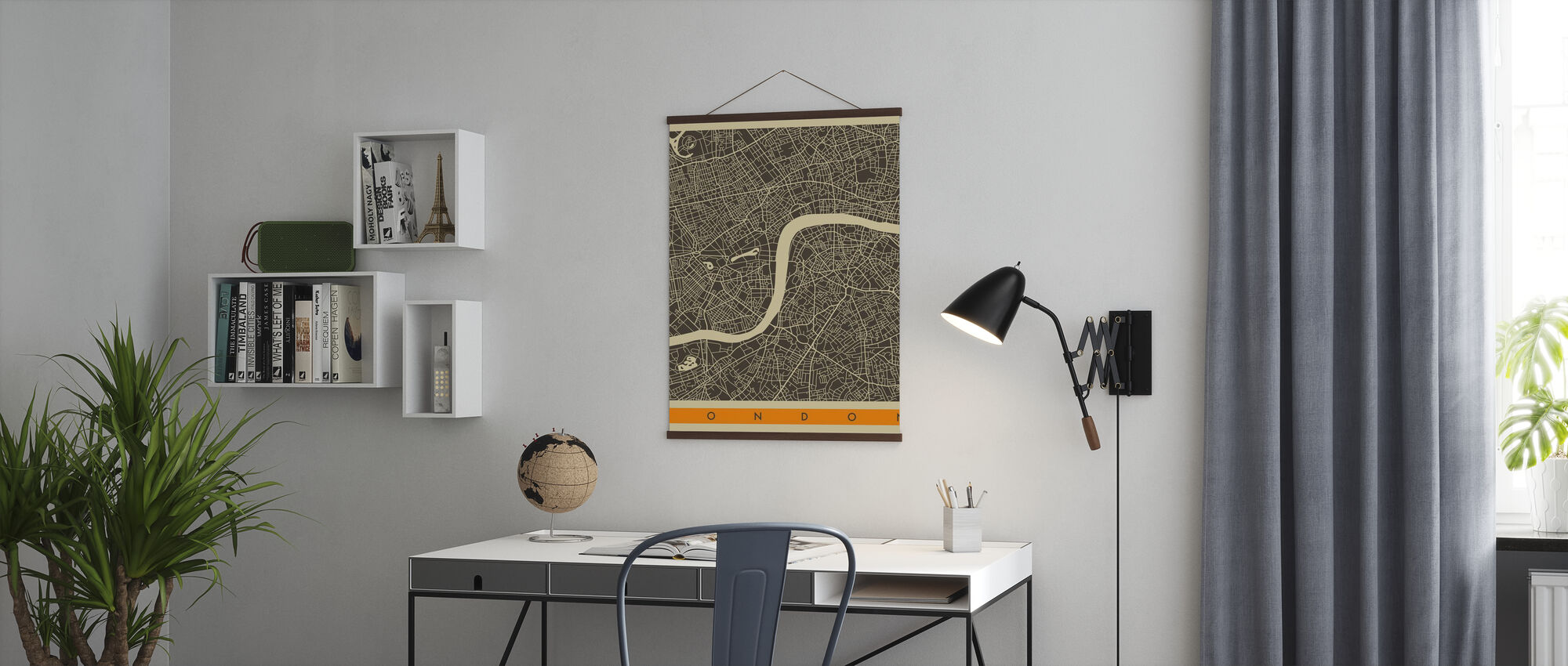 City Map - London - Poster - Office