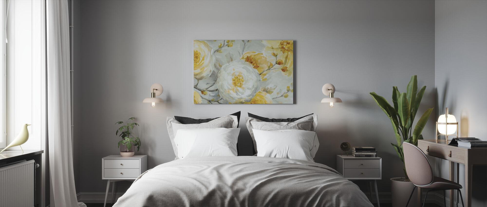 Zonneschijn - Canvas print - Slaapkamer