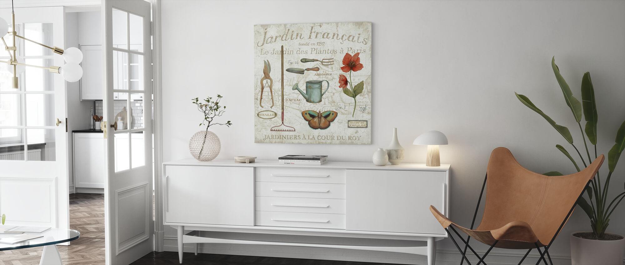 Royal Garden III - Canvas print - Living Room