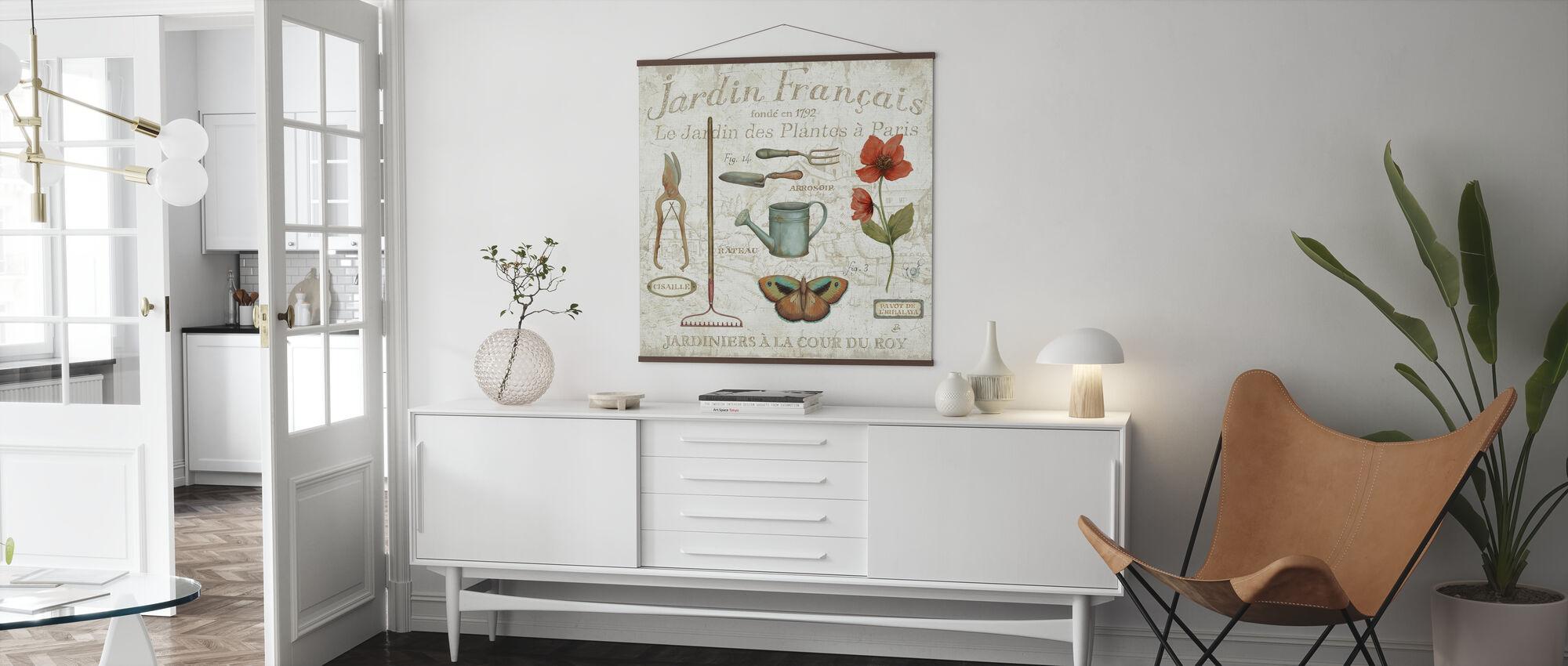 Royal Garden III - Poster - Living Room