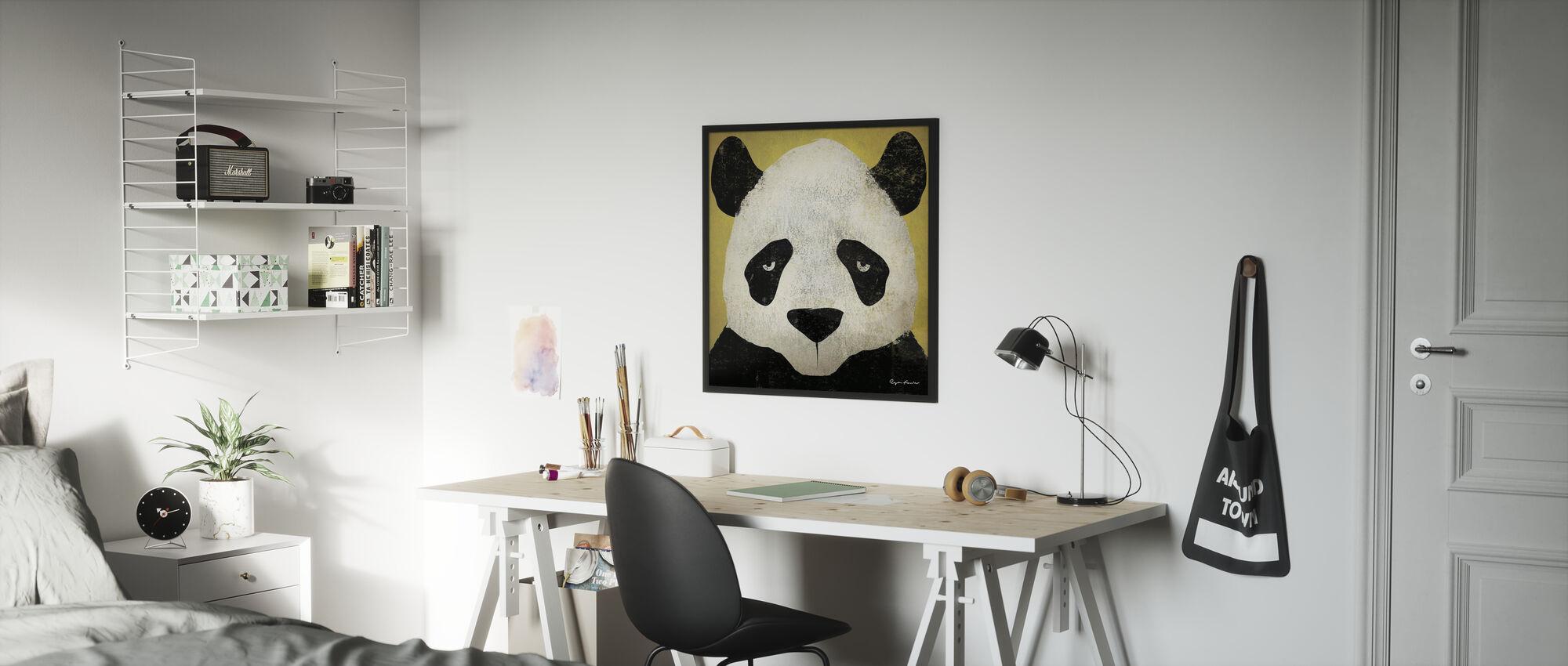 Ryan Fowler - Panda - Poster - Kinderkamer