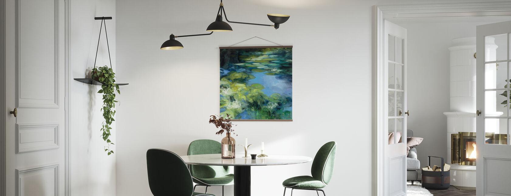 Seerosen II - Poster - Küchen
