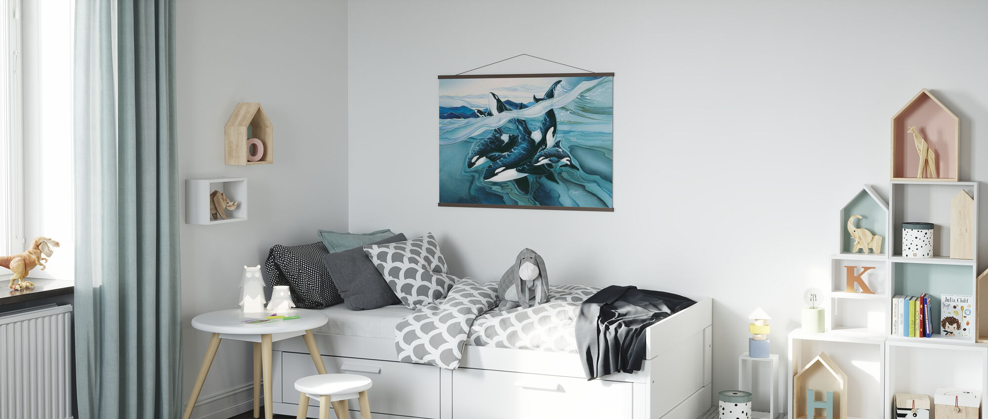 Blue Orca Families - Poster - Kids Room
