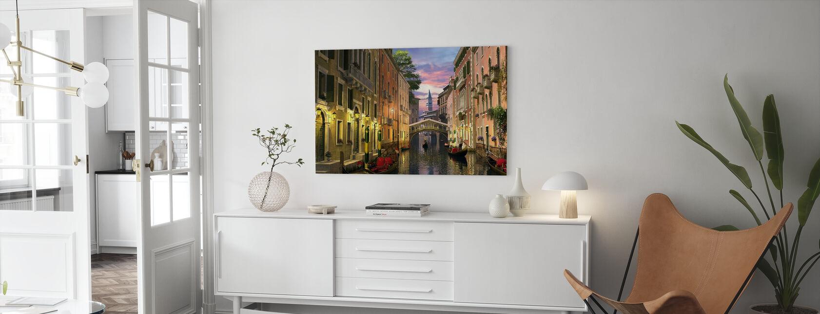 Venise au crépuscule - Impression sur toile - Salle à manger