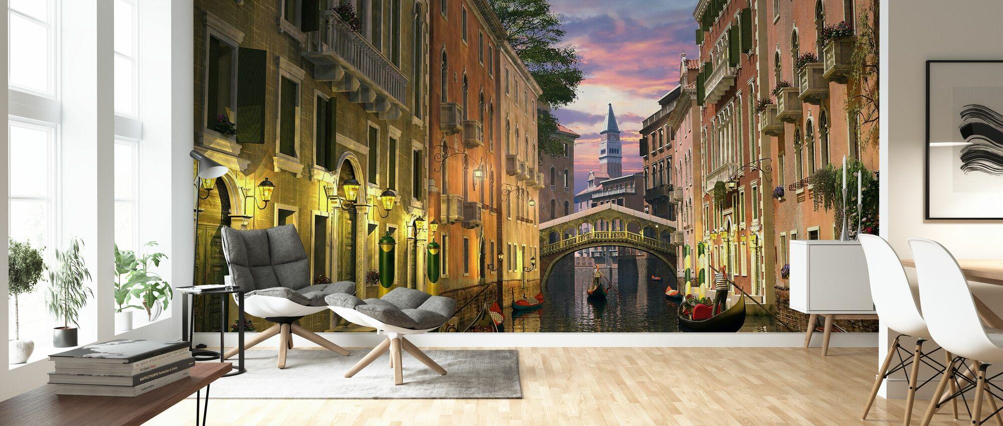 Venise au crépuscule - Papier peint - Salle à manger