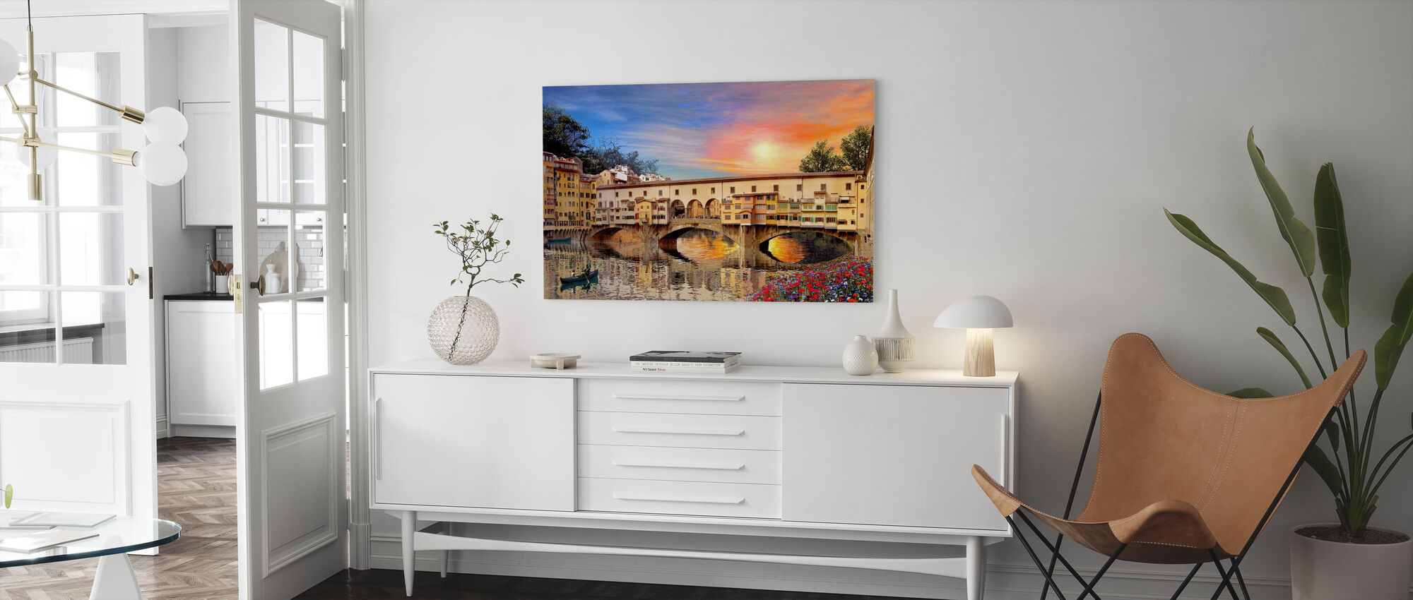 Florence Bridge - Canvas print - Living Room