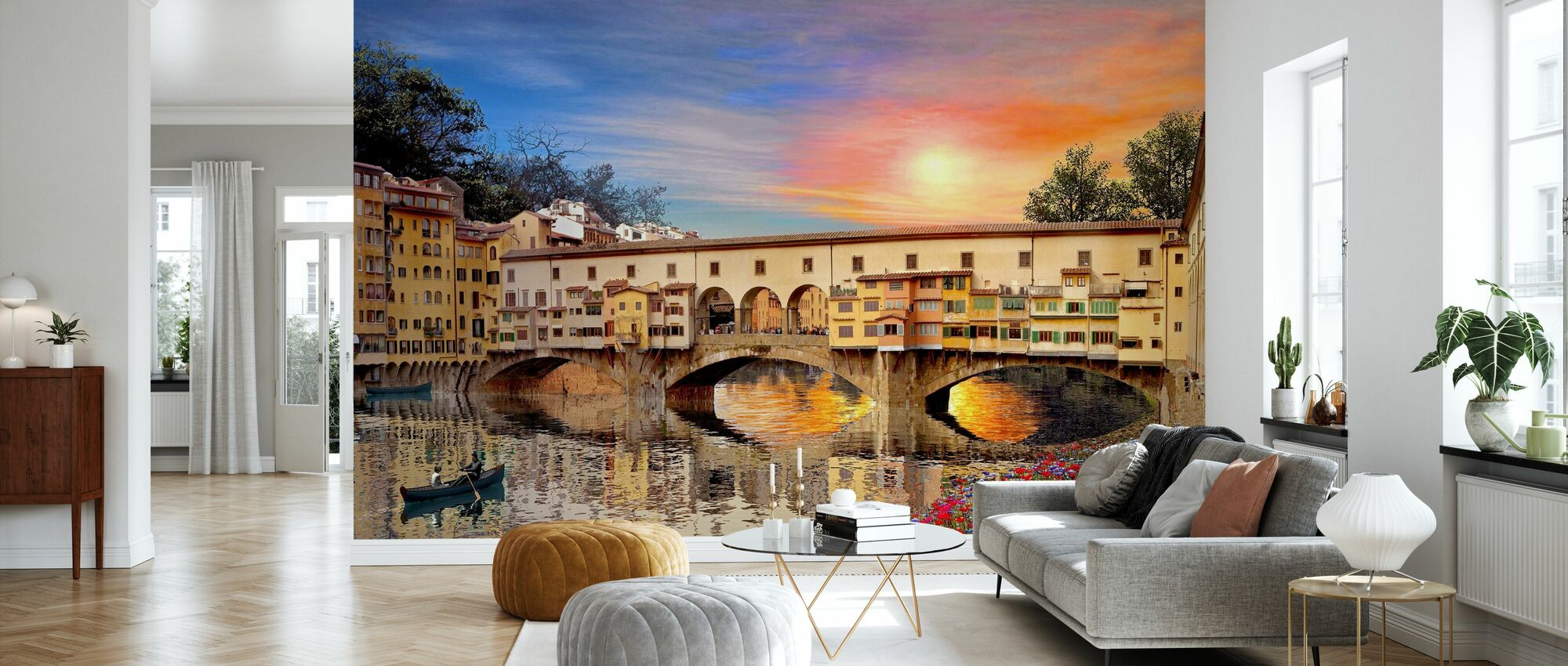 Firenze Bro - Tapet - Stue