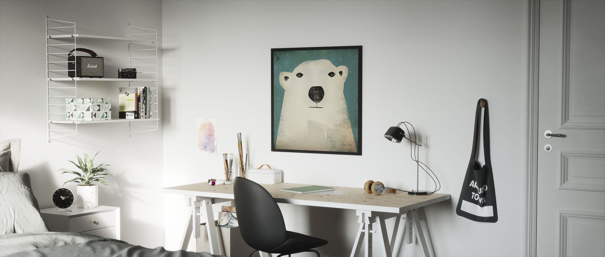 Ryan Fowler - Eisbär - Poster - Kinderzimmer
