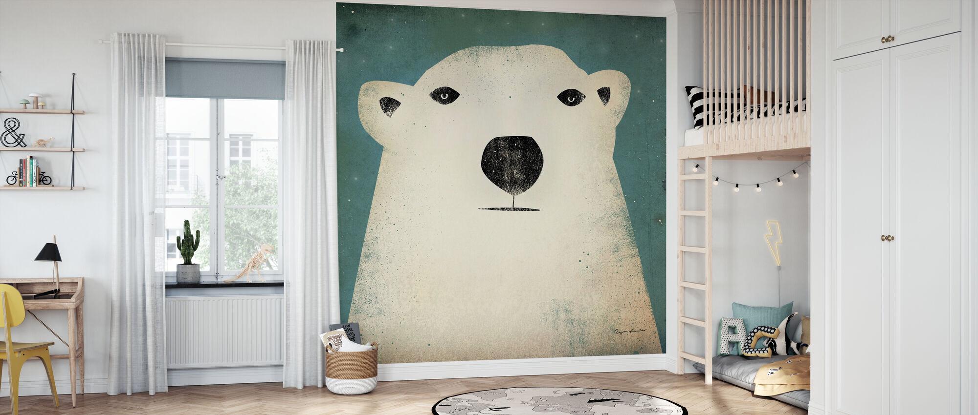 Ryan Fowler - Polar Bear - Wallpaper - Kids Room