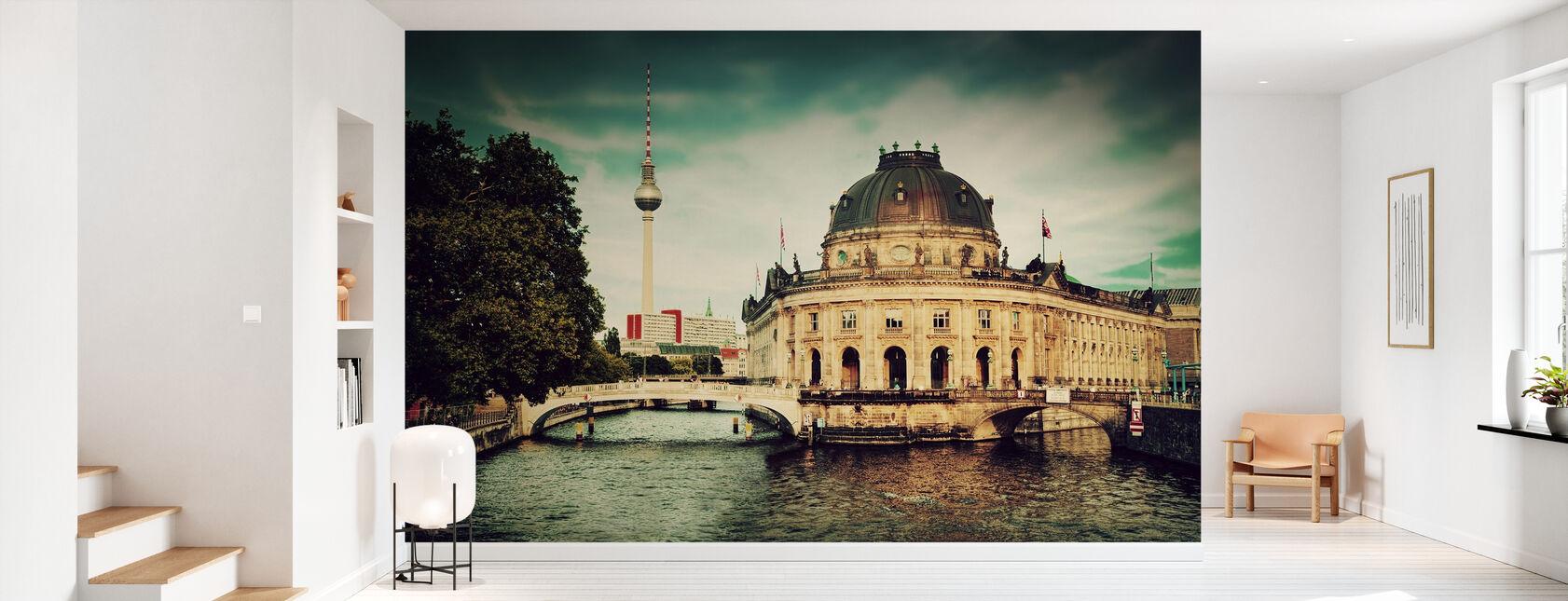 Bode Museum i Berlin - Tapet - Gang