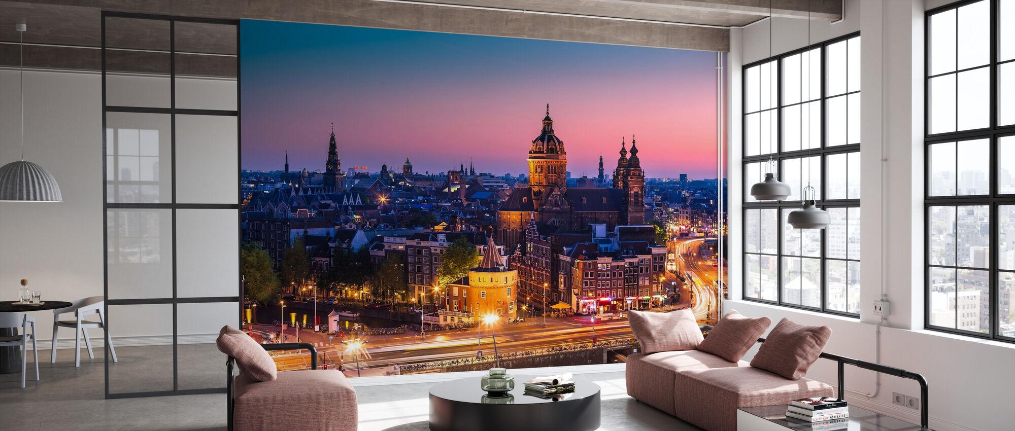 Amsterdam City - Wallpaper - Office
