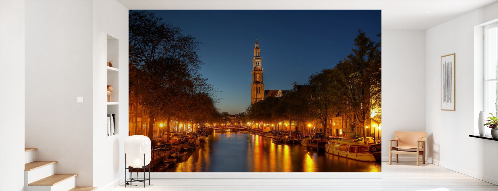 Prinsengracht Canal in Amsterdam - Tapet - Hall