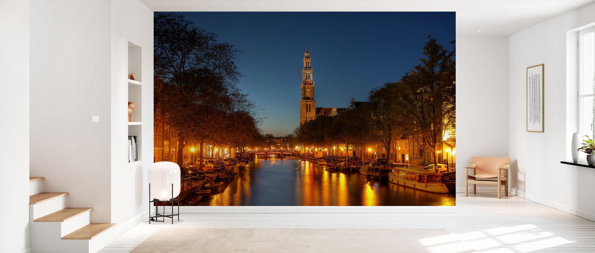 Prinsengracht Canal in Amsterdam - Tapete - Flur