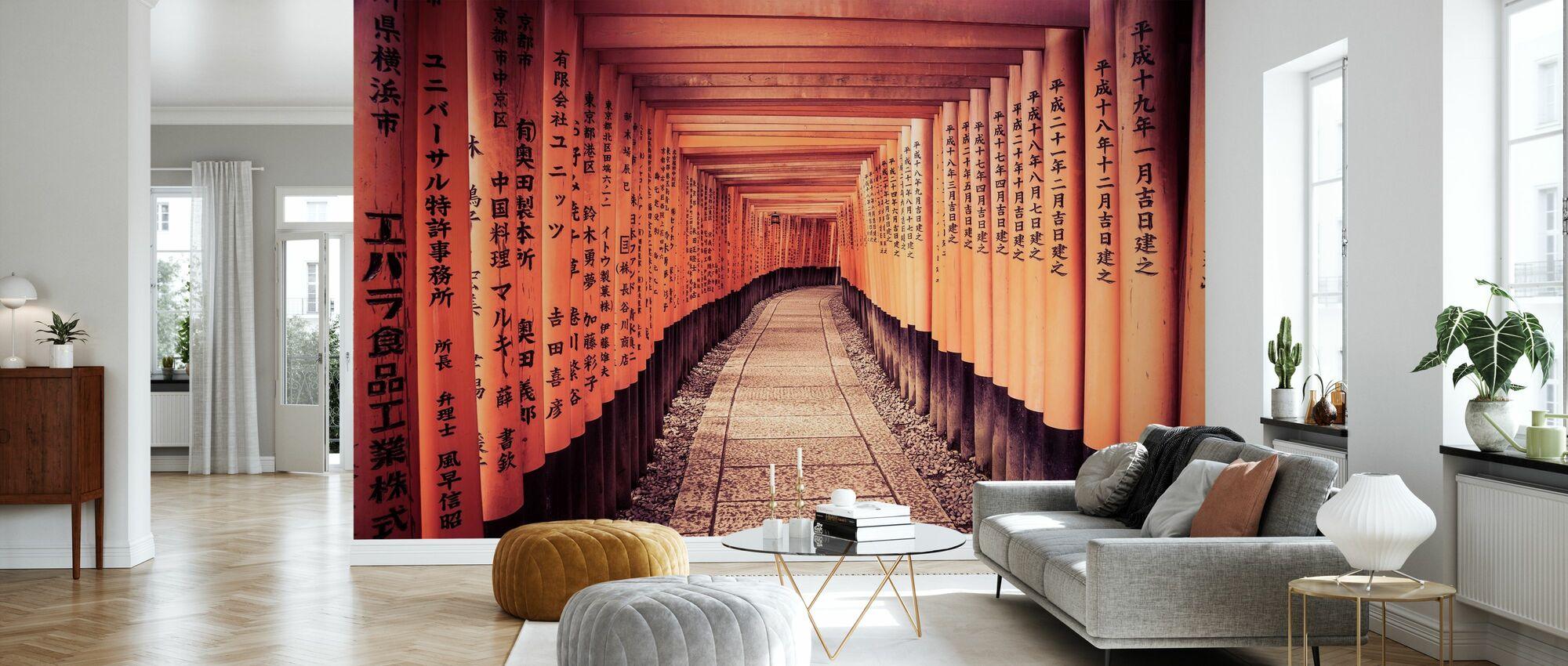 Historische Kyoto-poorten in Japan - Behang - Woonkamer