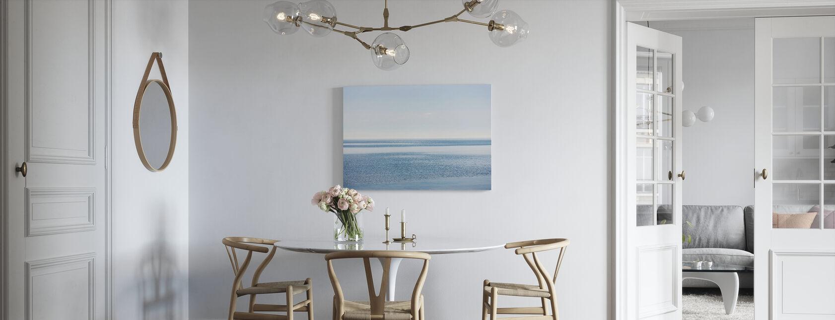 Sparkling Sea - Canvas print - Kitchen