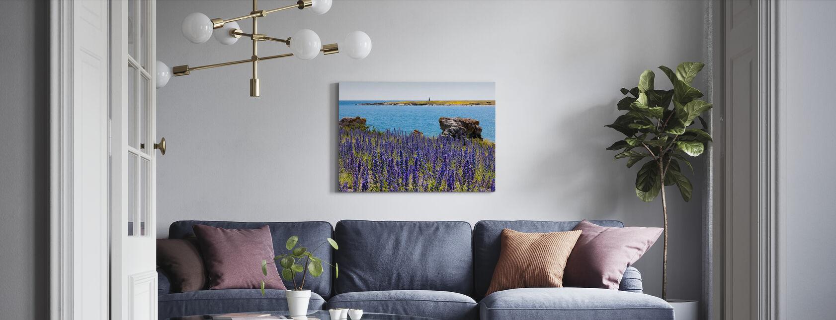 Gotland Sommerlandskap - Lerretsbilde - Stue